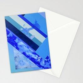 Seasonal Blue 3 Stationery Cards
