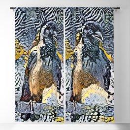 Magpie Antics Blackout Curtain