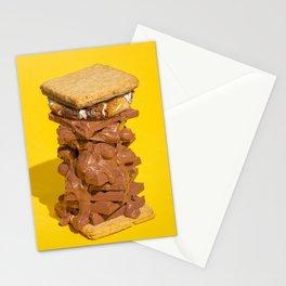 Over Indulgence 3 Stationery Cards