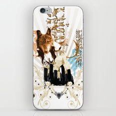 vintage.Ally iPhone & iPod Skin