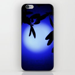 Does That Blue Moon Ever Shine on You iPhone Skin