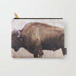 Boho Buffalo Carry-All Pouch