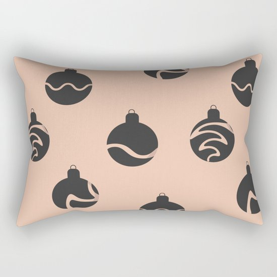 Christmas balls Rectangular Pillow