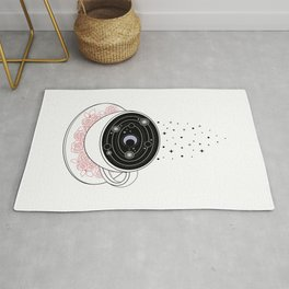 Reading the Coffee Grounds Rug