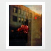 polka dots Art Prints featuring Polka Dots by Bella Blue Photography