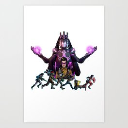 Borderlands - Videogame Fan Art Art Print