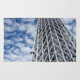 ARCH ABSTRACT 3: SkyTree Tower, Tokyo Rug