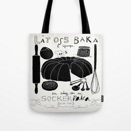 Baka en kaka Tote Bag