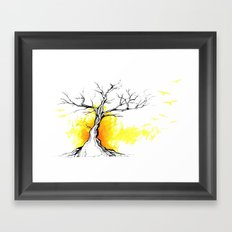 Tree of Light Framed Art Print