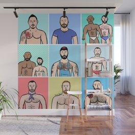 Beard Boy: Boys, Boys, Boys Wall Mural