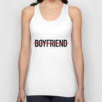 boyfriend Tank Tops featuring Anti Boyfriend by RexLambo