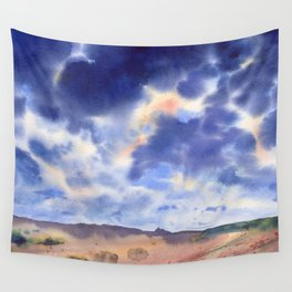 """Cloudy sky"" Wall Tapestry"