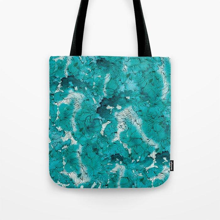 Blue depths Tote Bag