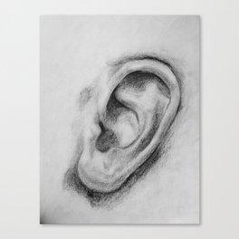 Sound mouth Canvas Print