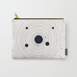 Simple Solar System Carry-All Pouch