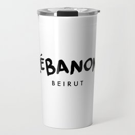 Beirut x Lebanon Travel Mug