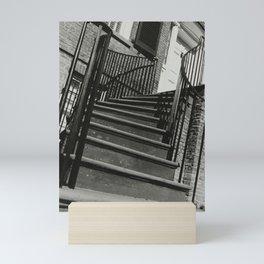Sideways Stairway Mini Art Print