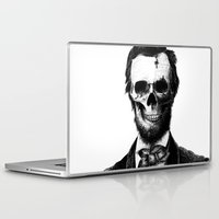 lincoln Laptop & iPad Skins featuring Abraham Lincoln by Motohiro NEZU