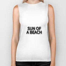 SUN OF A BEACH Biker Tank