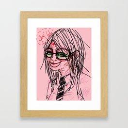 ...anything else Sir? Framed Art Print