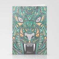 teeth Stationery Cards featuring Teeth by Alexandria Robinson