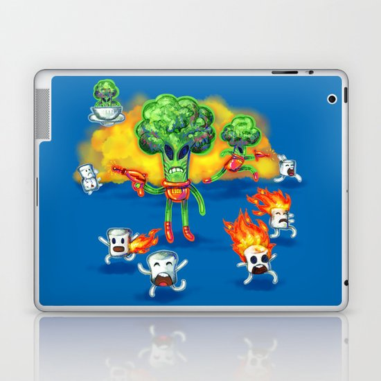 Veggie Attack Laptop & iPad Skin