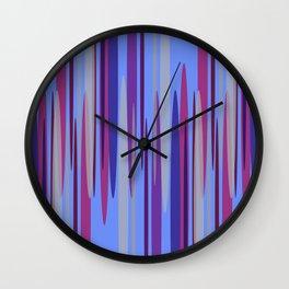 Peakwold (Blue) Wall Clock