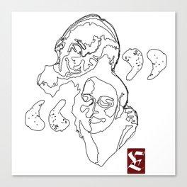 """ Friends "" Canvas Print"