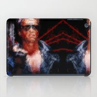 terminator iPad Cases featuring The Terminator by Alice Z.