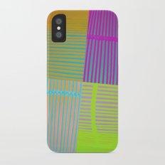 Di-simetrías Color iPhone X Slim Case