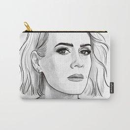 Sarah Paulson pencil portrait Carry-All Pouch