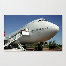Fly QANTAS! Canvas Print