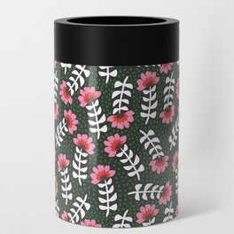 Camelita Retro Folk Flower Can Cooler