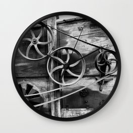 Old Farm Mechanics 2 Wall Clock