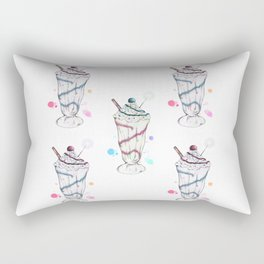 Ice-Cream Sundae Rectangular Pillow