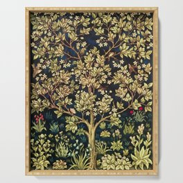 William Morris Tree Of Life Serving Tray