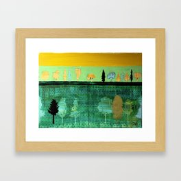 September the 1st Framed Art Print