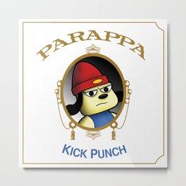 Parappa - Kick Punch Metal Print