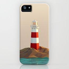 calm lighthouse iPhone Case