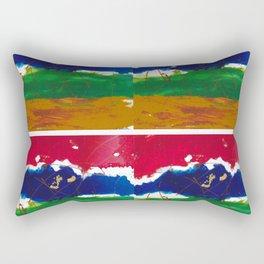 Double Outlook         by Kay Lipton Rectangular Pillow