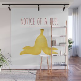 Notice Of A Peel Wall Mural