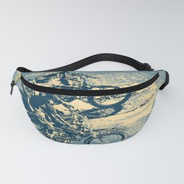 Dirt Track - Motocross Racing Fanny Pack