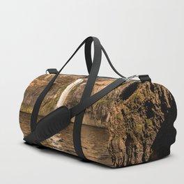 Desert Waterfall - Summer In Palouse Duffle Bag