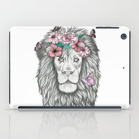 the lion king iPad Cases featuring Lion King by Sorasoraya