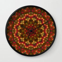 Kaleidoscope , mandala , ornament 15 Wall Clock