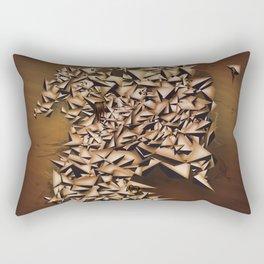 Tiger's Eye Rectangular Pillow