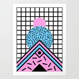 Flux circus Art Print