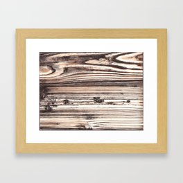 High Res Wood Texture Photography Digital Art Framed Art Print