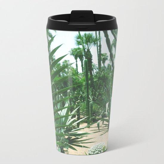 Moroccan Gardens Metal Travel Mug