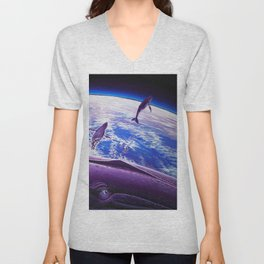 Cosmic Migration Unisex V-Neck